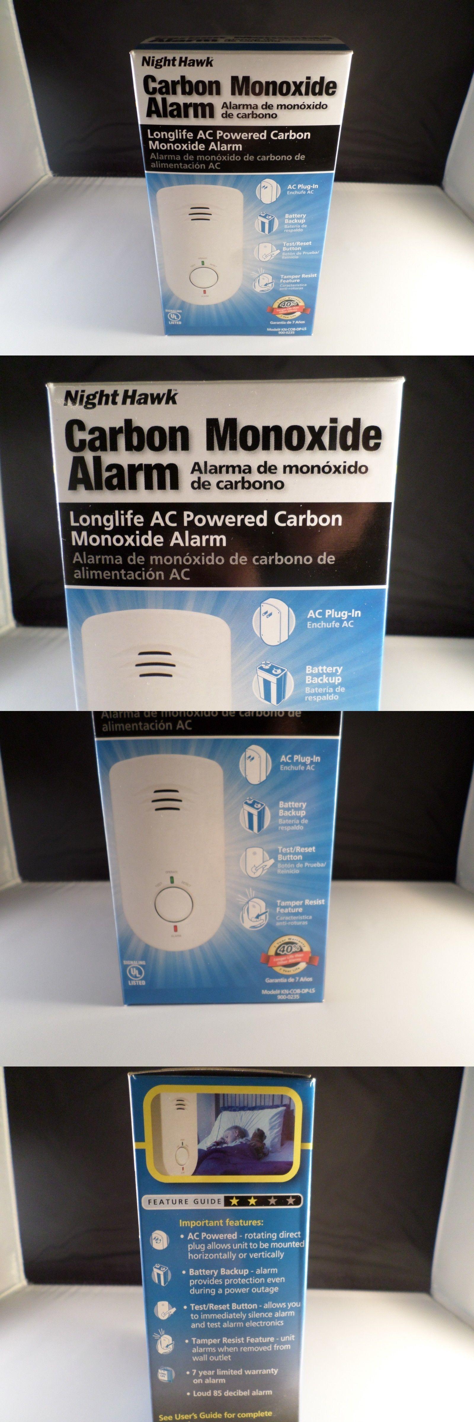 Long Life AC Powered with Battery Backup Kidde 900-0235 Nighthawk Carbon Monoxide Alarm