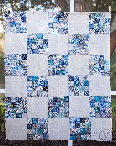 Liberty Love Sixteen Patch Quilt Top | by Meredith Daniel