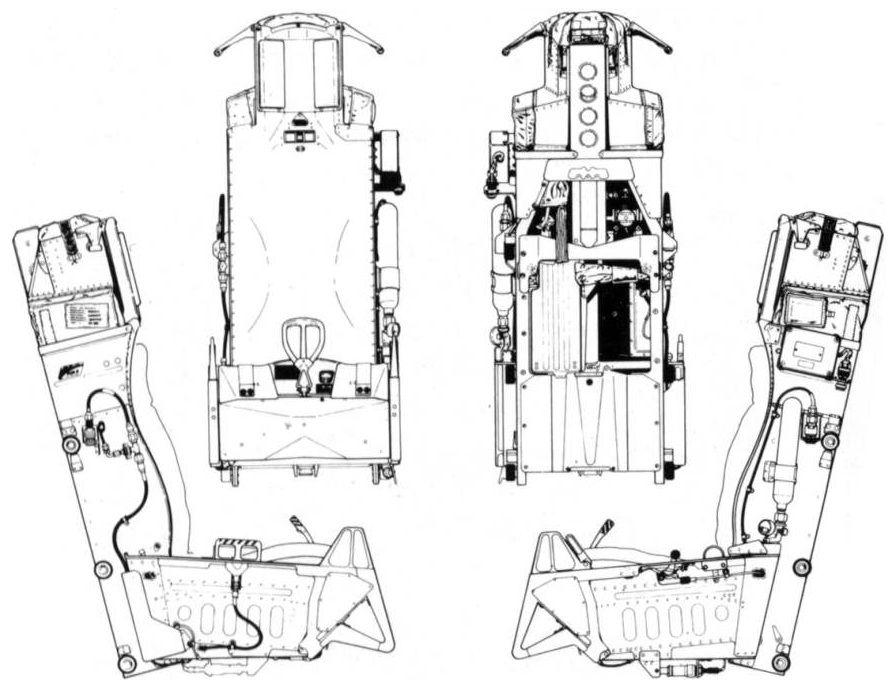 concept aircraft seats