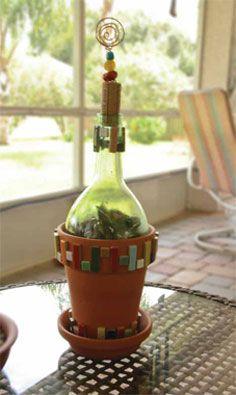 Generation Green G2 Bottle Cutter Recycled Glass Bottles
