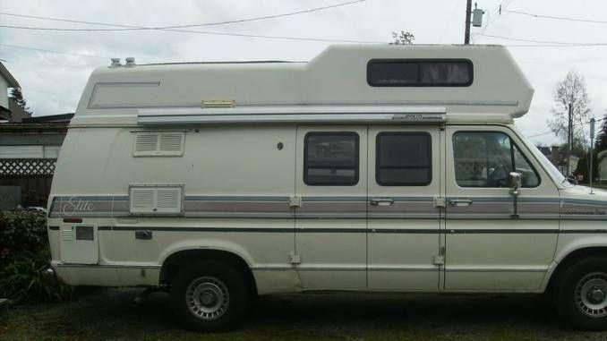 1990 E150 Elite Surrey Bc Camper Life Camper Van Life