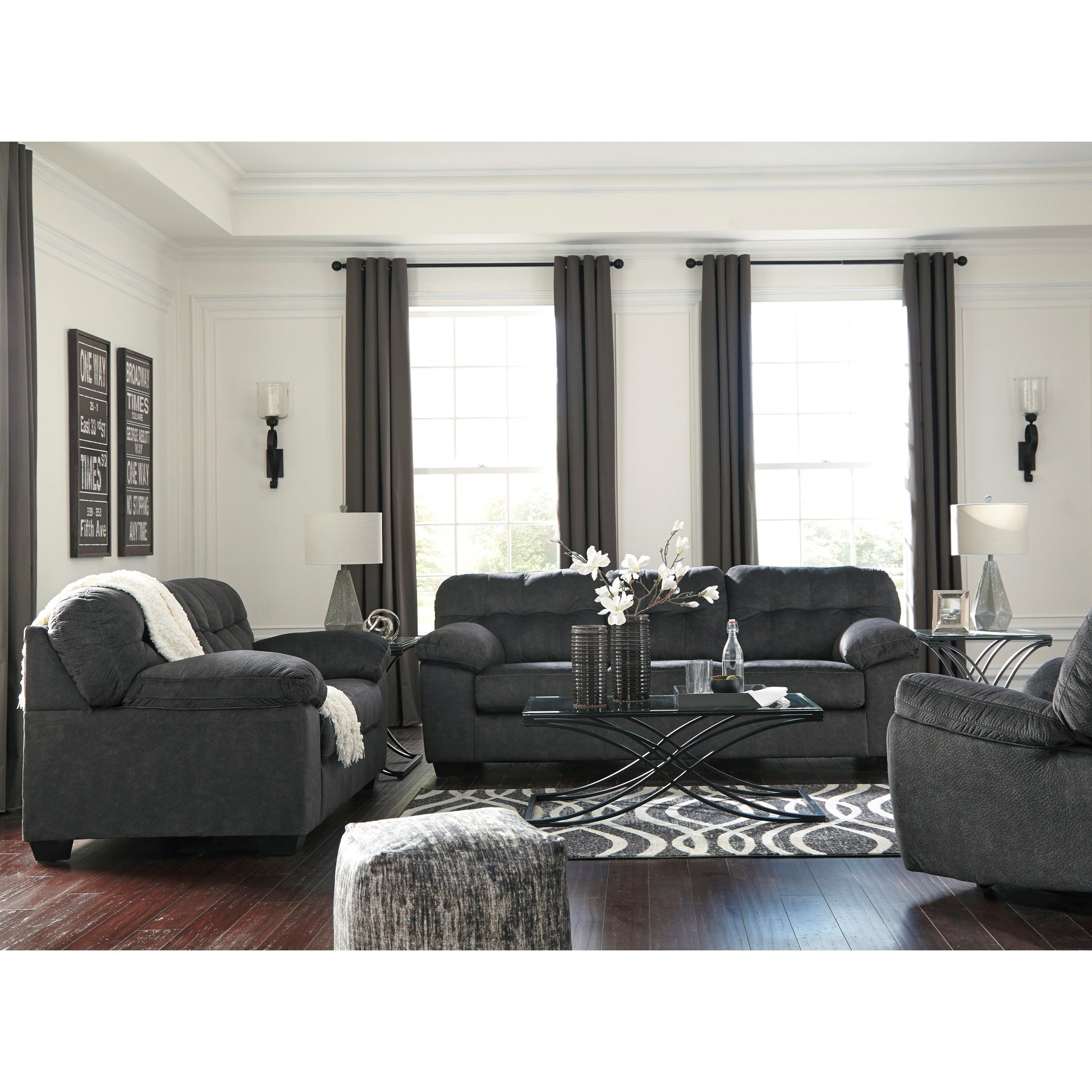 Accrington Stationary Living Room Group by Signature