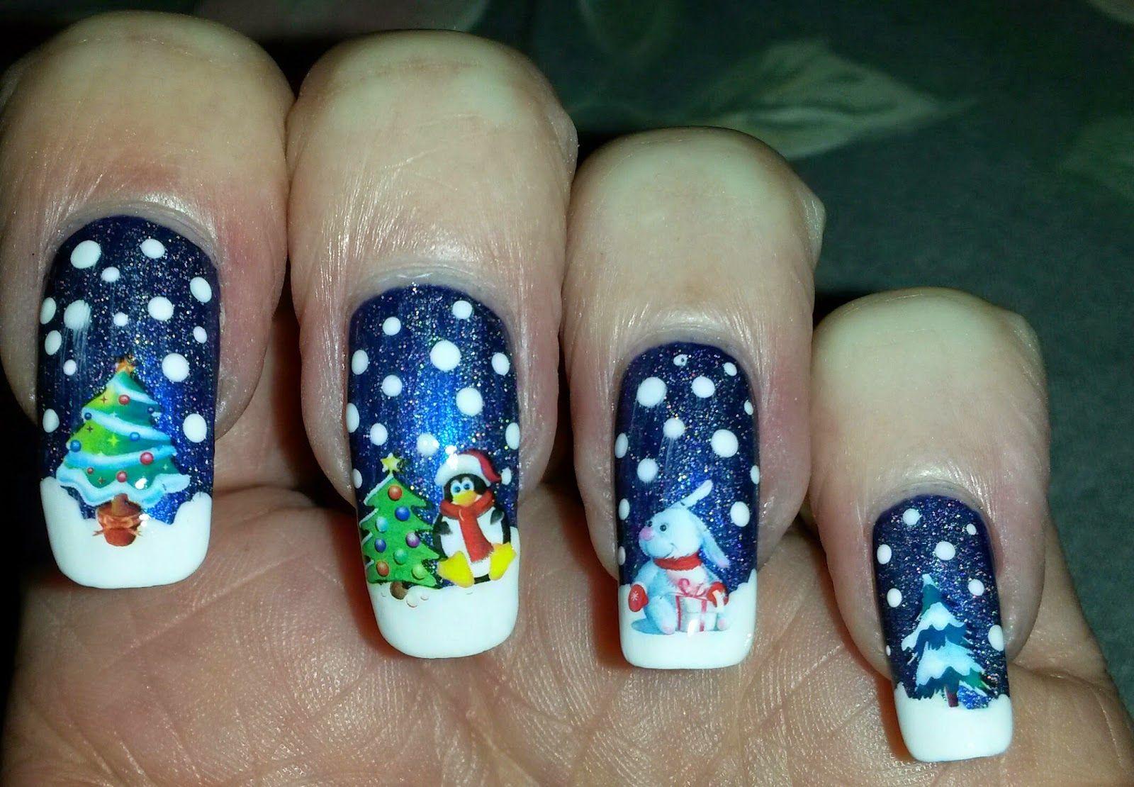 Bite No More: 12 Days of Christmas Day 2 | Nail Art - Christmas and ...