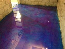 Quot Purple Galaxy Quot Epoxy Architecture Design Epoxy Floor