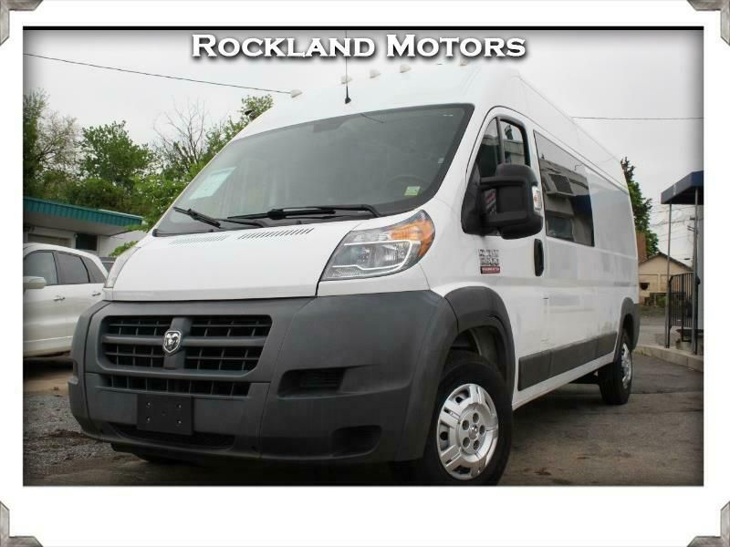 2014 Ram Promaster 3500 High Roof Tradesman 159 In Wb Vehicle Warranty