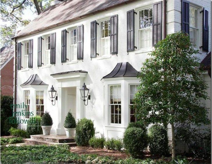 Best 25+ White Brick Houses Ideas On Pinterest
