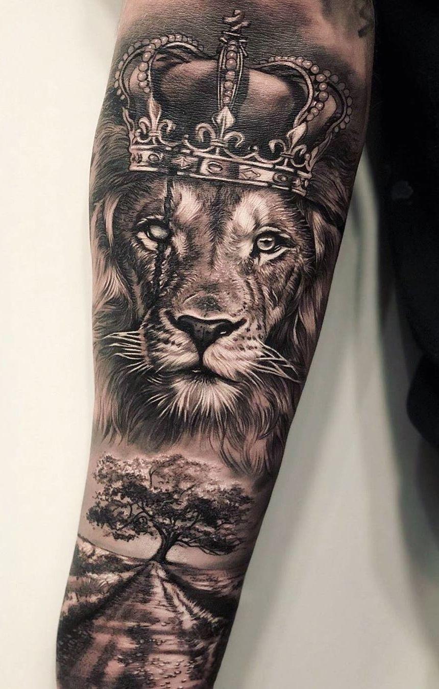 Lion Arm Sleeve : sleeve, Eye-Catching, Tattoos, That'll, Inked, Tattoo, Sleeves,, Tattoo,, Sleeve