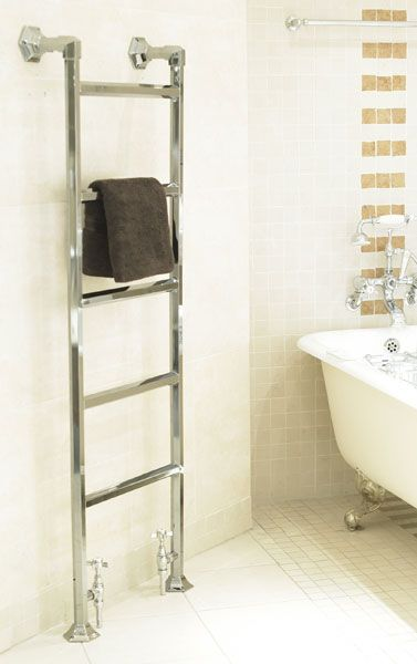 Perfect For The Smallest Room In The House Heated Towel Rails Are An Ingenious Space Saving Method Of Heating The Bathroom Kitchen Or Cloakroom Whil
