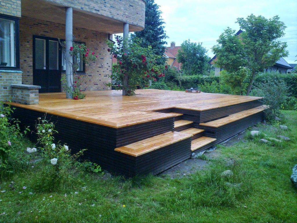 Terrasse matelas 2017 - Amenager une terrasse en bois ...