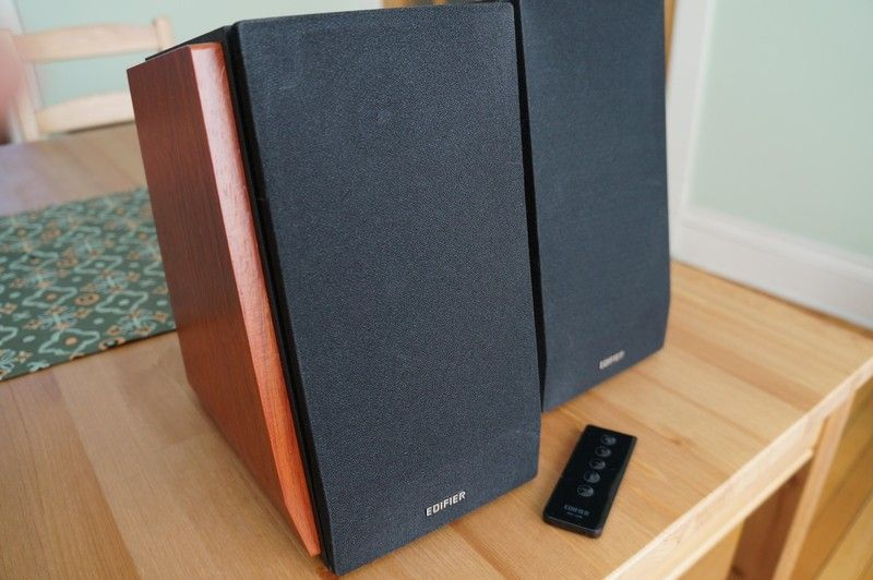 If Youre Looking For A New Pair Of Bluetooth Enabled Speakers Edifiers Are Beautiful Bookshelf That Offer Quality Sound At Great Price