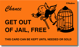 Image Result For Monopoly Cards Get Out Of Jail Card Templates Free Card Template Jail