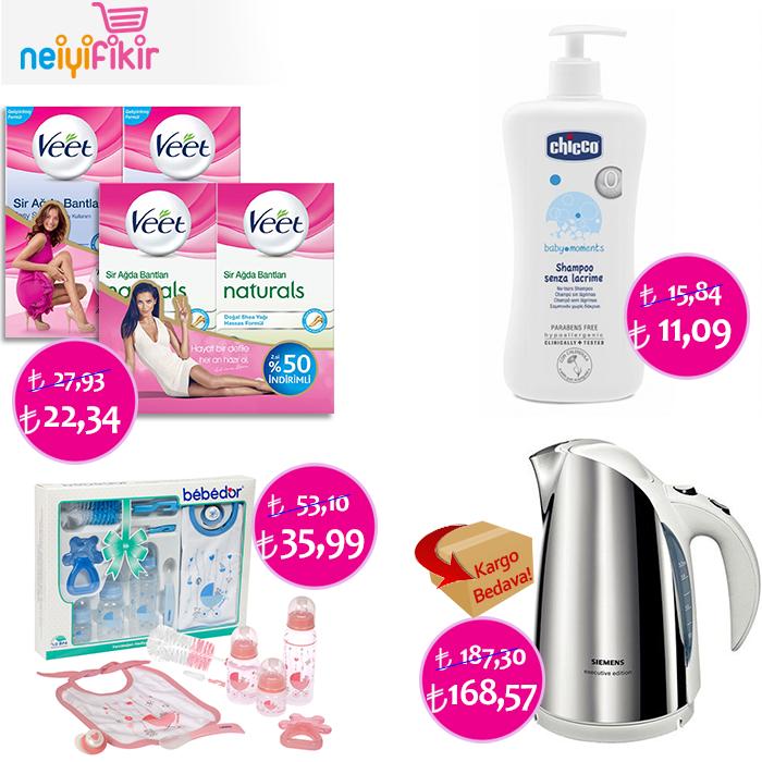 İndirimli ürünlerimizden sizin için seçtik! ♥       #indirim #anneolmak #bebek #annebebek #kampanya #veet #bebedor #chicco #siemens #epilasyon #mutfak #neiyifikir #baby #discount #mom