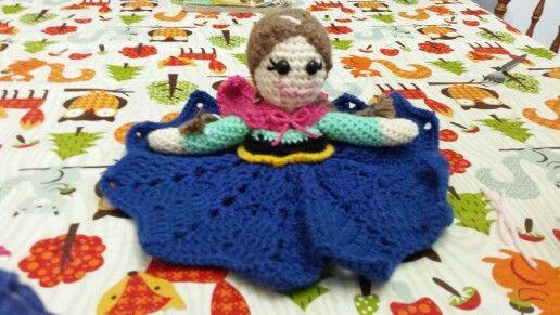 Anna lovey doll