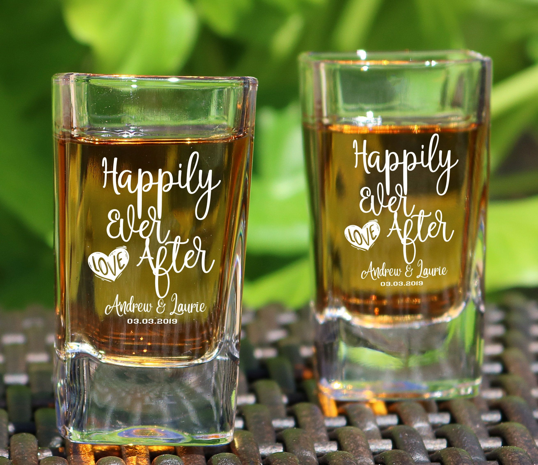 Wedding Shot Glasses Wedding Gift Wedding Party Favor