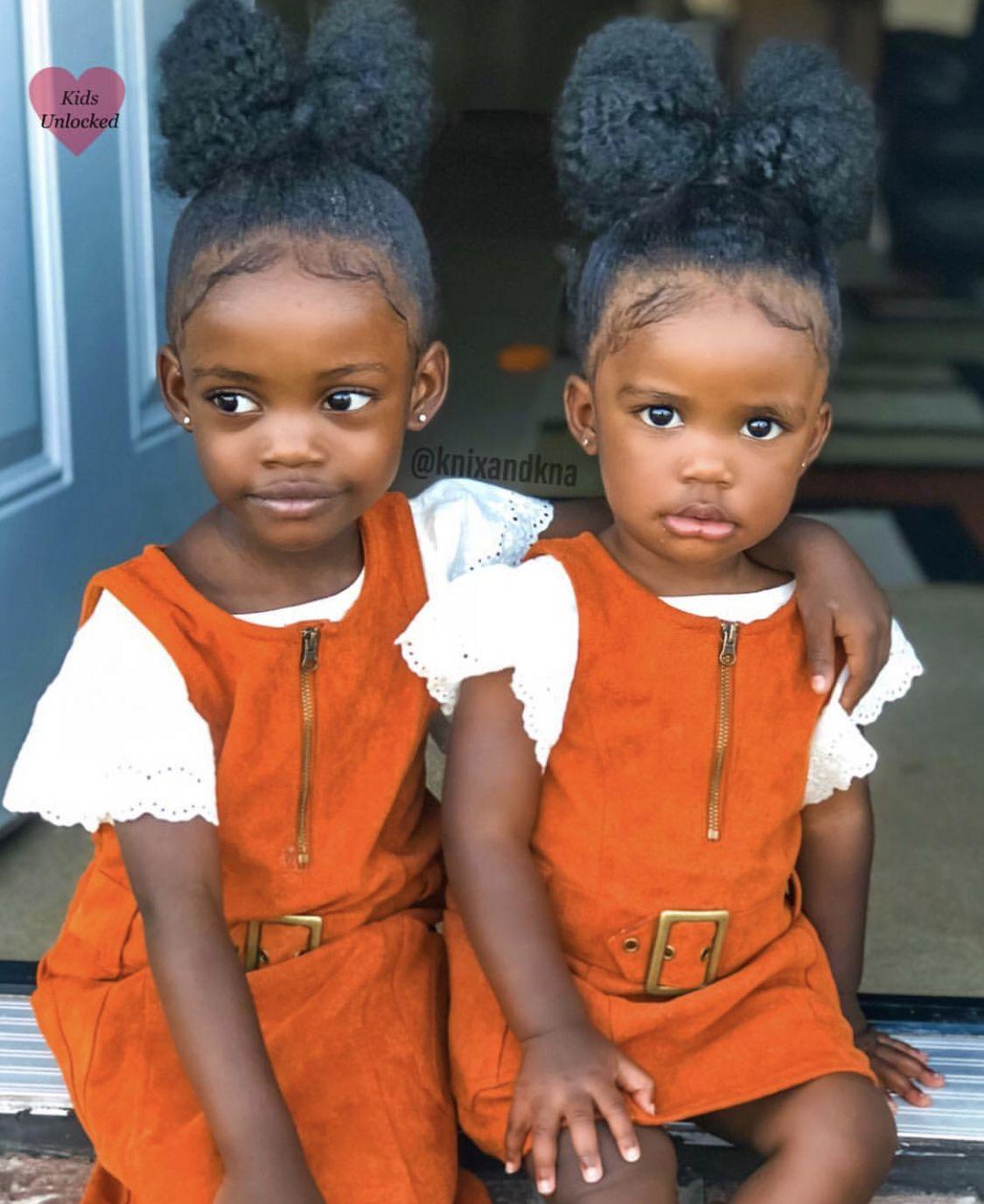 18200df335bb4 Knixia Annell - 3 Years   Knaomi Deshun - 1 Year • African American    Ghanaian ♥ Follow instagram.com KidsUnlocked