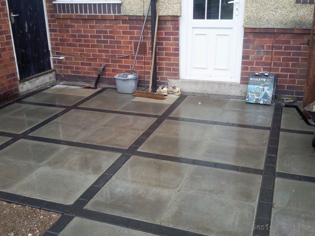 Perfect Polished Concrete Patio Slippery