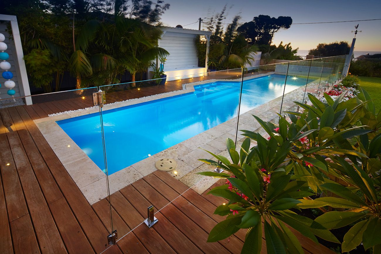 Image Result For Pool With Glass Fence Lap Pool Cost Above Ground Swimming Pools Rectangle Pool