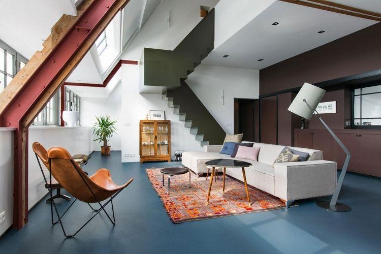 modern, Vintage und Loft unter einem Dach zimmer Pinterest - einrichtung im industriellen wohnstil ideen loftartiges ambiente