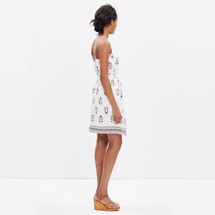 Silk Sandstar Dress in Vinefloral