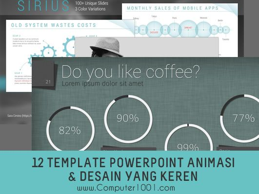 Template Powerpoint Keren Download 12 Template Powerpoint Dengan Efek Animasi Dan Desain Download Desain Animasi