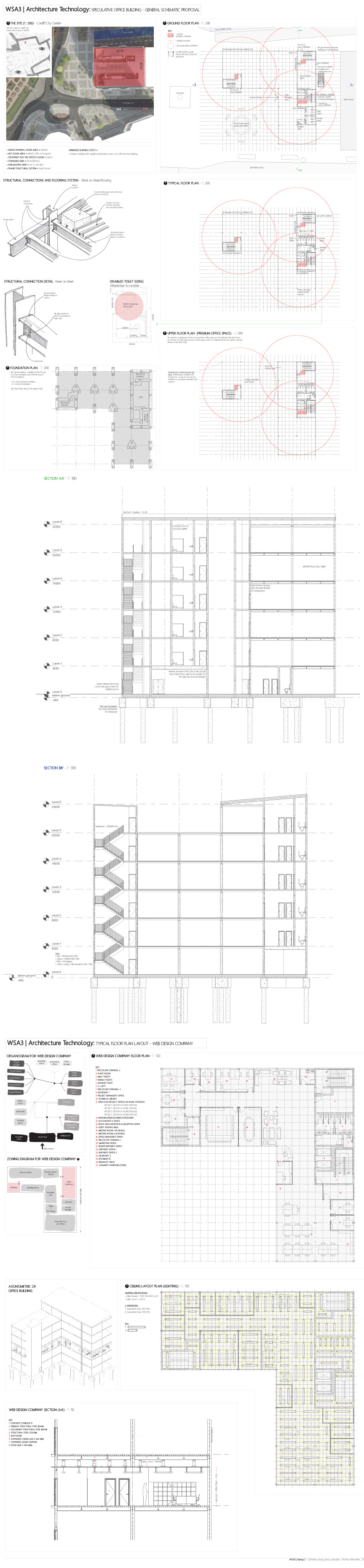 Architectural Technology 2012 Schematic Proposals For A Hvac Drawing Checklist This Involved Resolving Structural Systems Organisational And Zoning Layouts Ventilation Duct Sizes Ceiling Lighting Plans