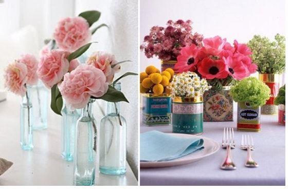 Imagen Ideas para decorar con flores artificiales del artículo Ideas