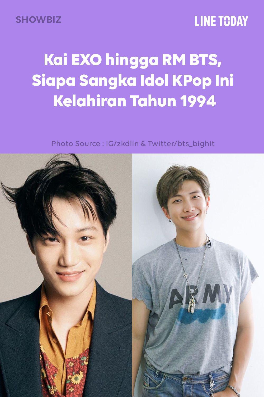 Rm Bts Hingga Sehun Exo 20 Idol Kpop Ini Kelahiran Tahun 1994 Idol Kpop Tahu
