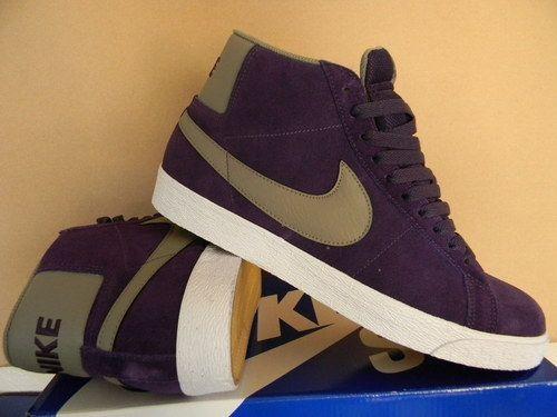 nike purple high tops | Purple nikes, Mens fashion work, Nike