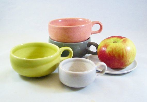 Vintage RUSSEL WRIGHT Modern Cup Assortment by ReArcade on Etsy, $32.00