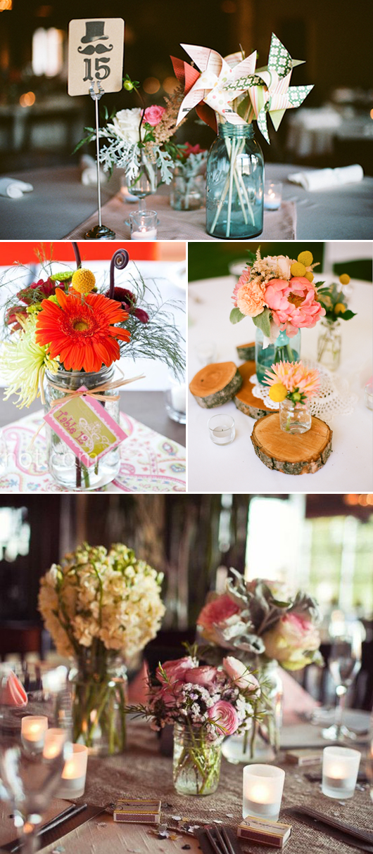 mason jar wedding favors | ... top left: Wedding Chicks , The Knot ...