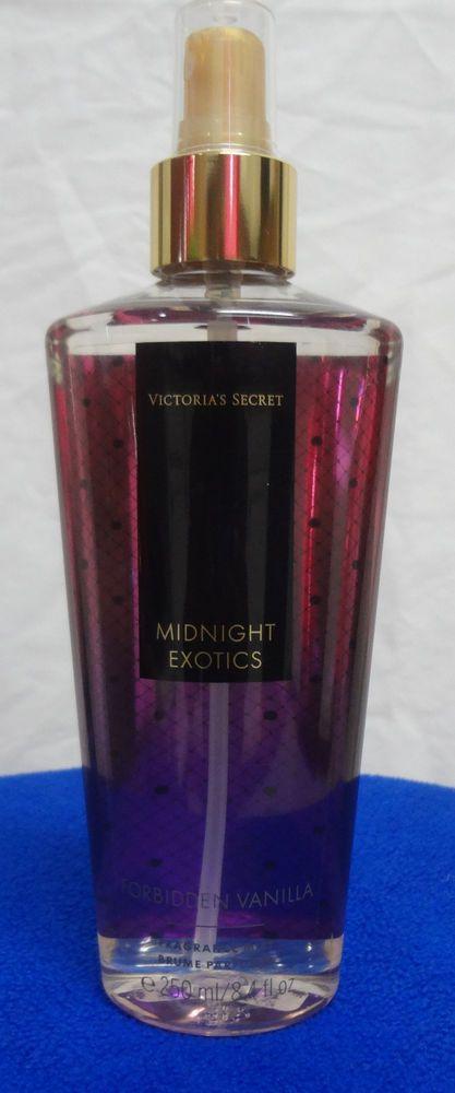 victoria secret body mist midnight exotics