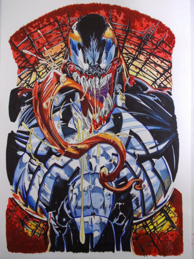 #Venom #Fan #Art. (VENOM : Dark Origin  (Angel Medina cover) By: ARTIEFISHEL79. (THE * 5 * STÅR * ÅWARD * OF: * AW YEAH, IT'S MAJOR ÅWESOMENESS!!!™)[THANK Ü 4 PINNING!!!<·><]<©>ÅÅÅ+(OB4E)