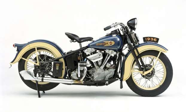 The 1936 Harley Davidson El Elished
