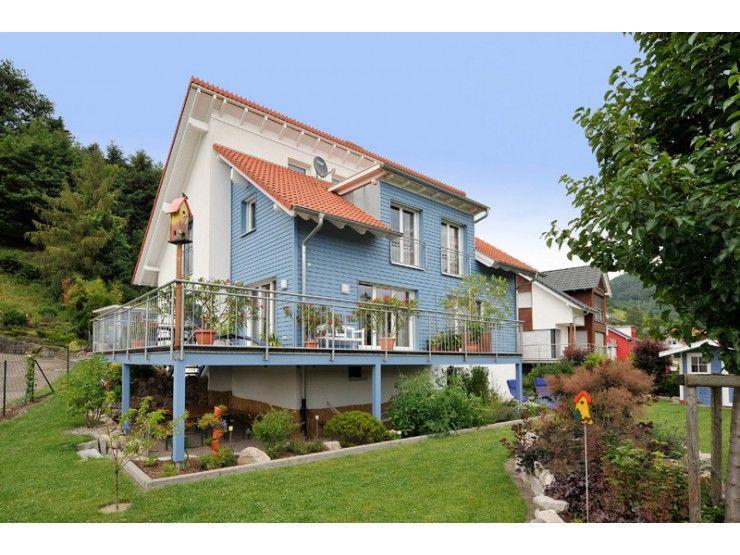Design 144 einfamilienhaus von frammelsberger r for Blockhaus modern einrichten