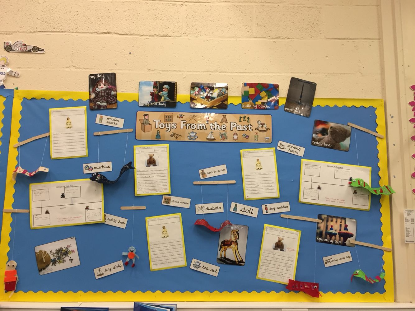 Toys From The Past Ks1 Display