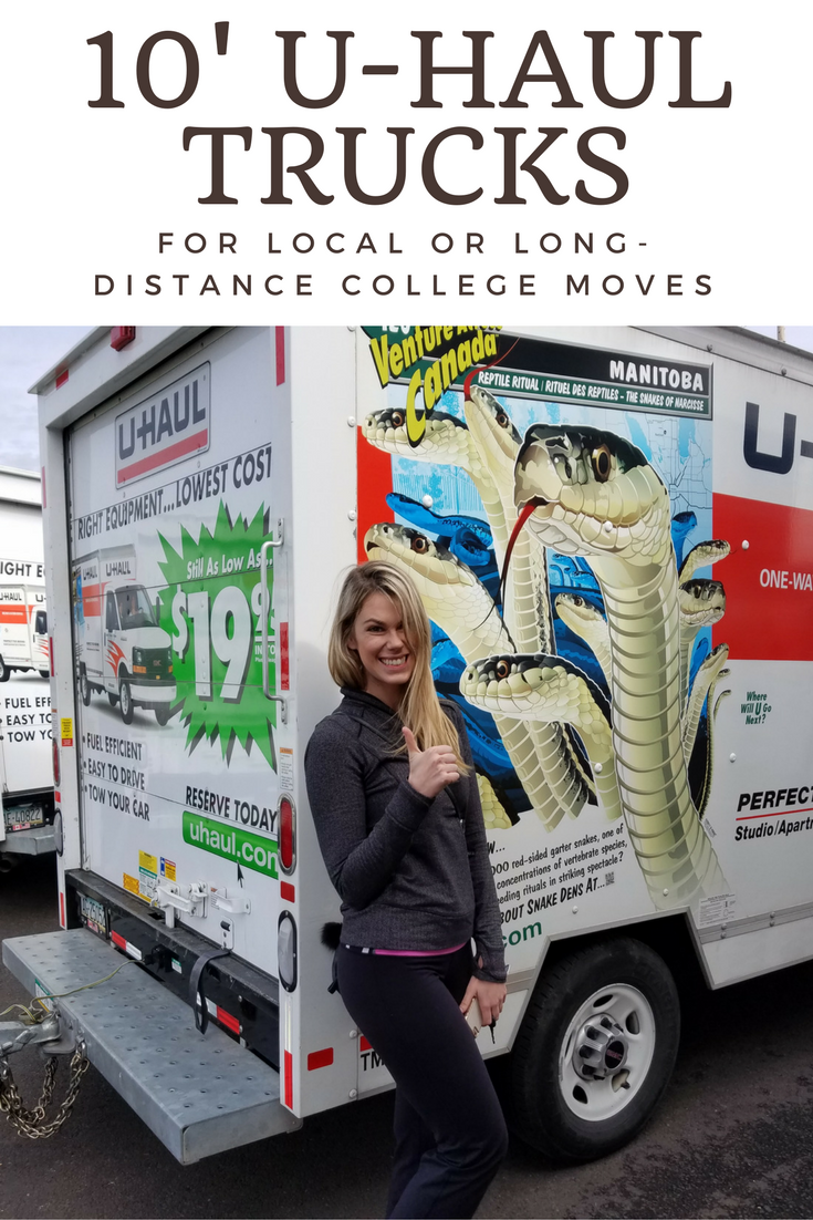 Whether You Re Moving Down The Street Or Cross Country To College 10 U Haul Trucks Are Here For You They Have Moving Truck Rental Moving Truck College Move