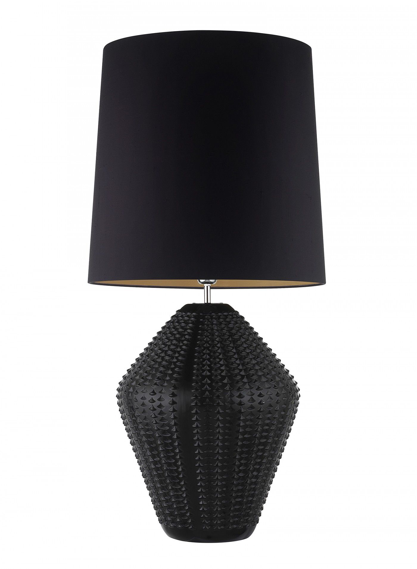 Hericus Antique Ebony Classic Table Lamp Black Table Lamps Contemporary Lamp Shades