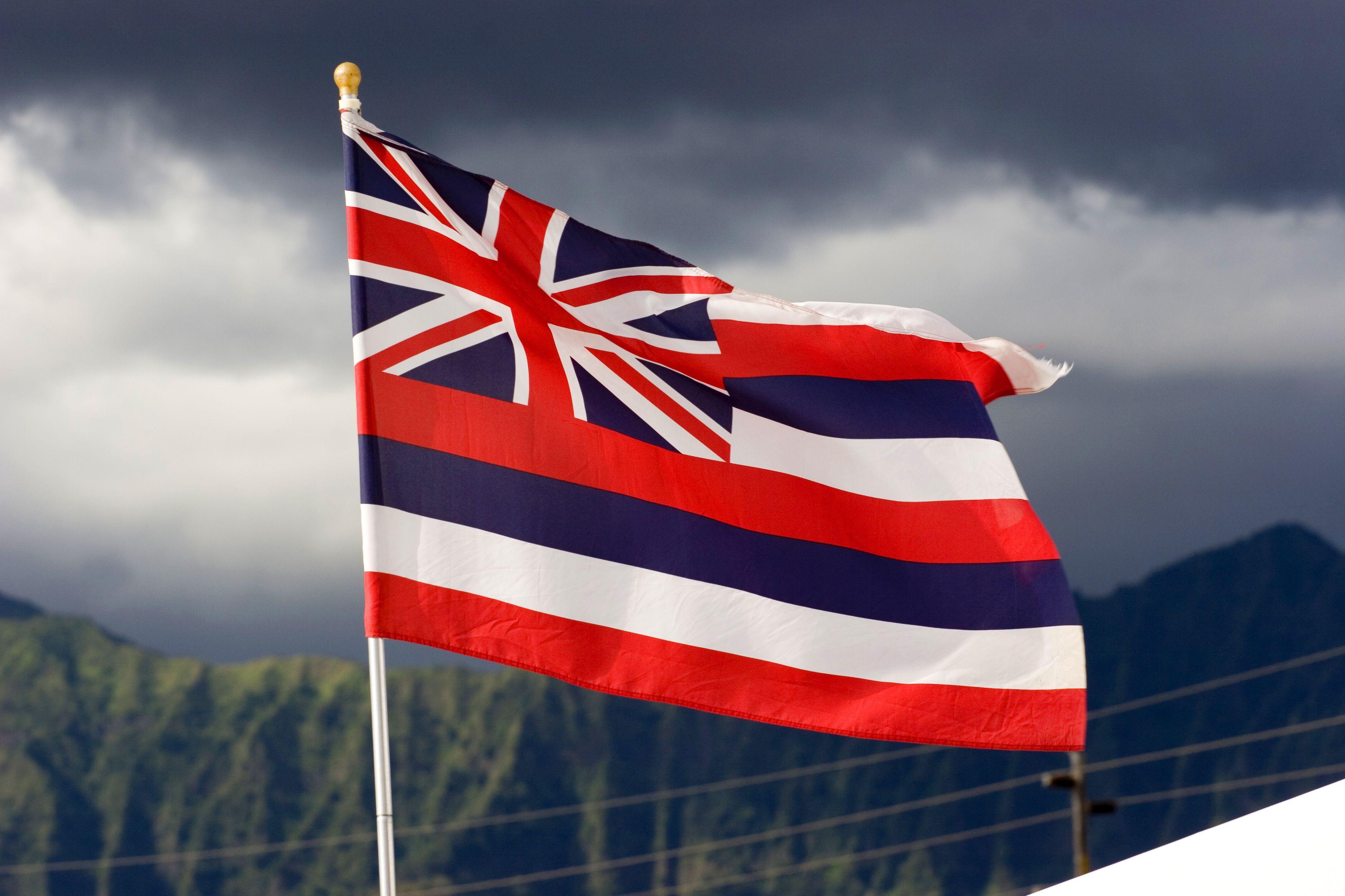 Hawaii Flags Through History Historical Flags Big Island Hawaii Hawaii Flag