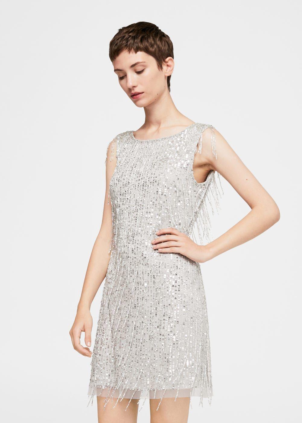 Sequin beaded dress - Women  6c76177cf