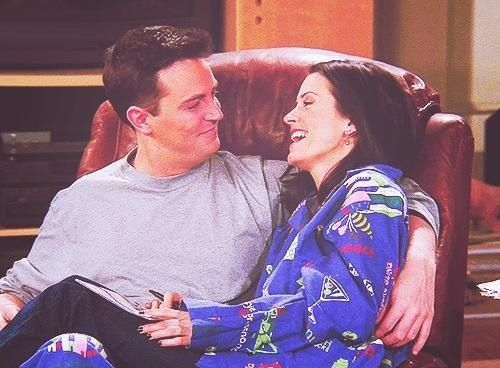 Chandler Bing & Monica Geller (cutest couple ever imo)