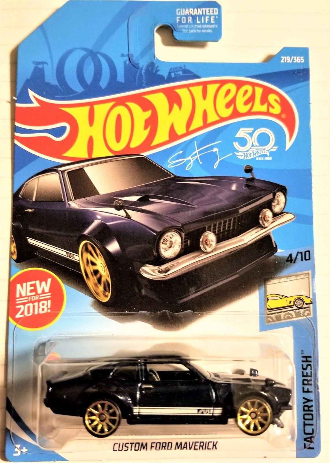 Hot Wheels 50th Anniversary Custom Ford Maverick Factory Fresh