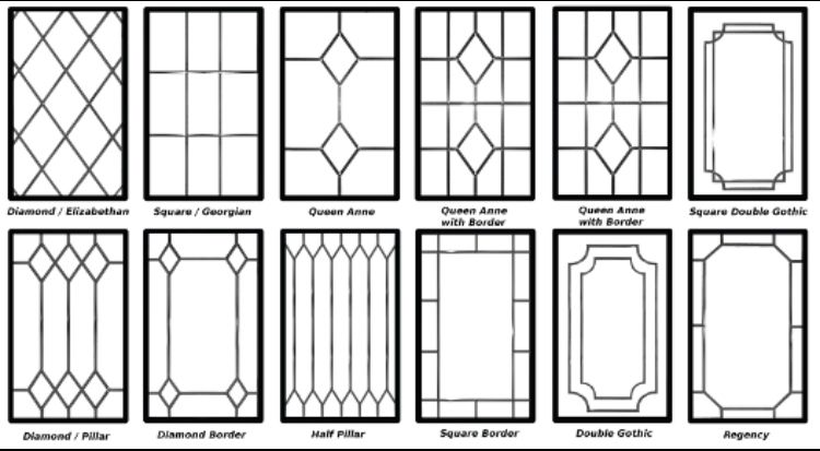 Window Styles Window Stained Leaded Glass Cabinets Faux Stained Glass