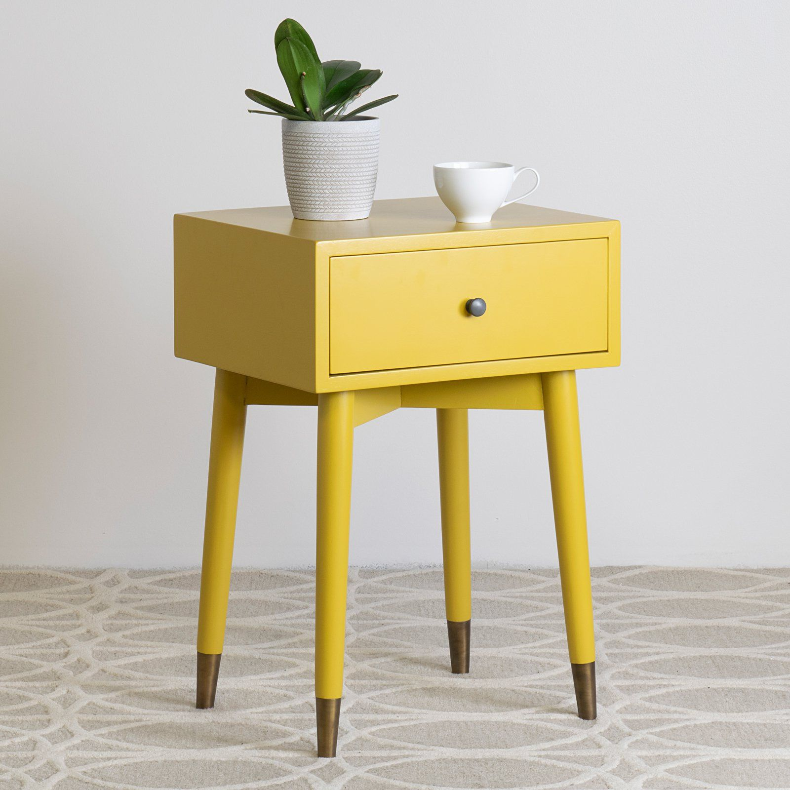 - East At Main Weeks Acacia Wood Square Accent Table Square Accent