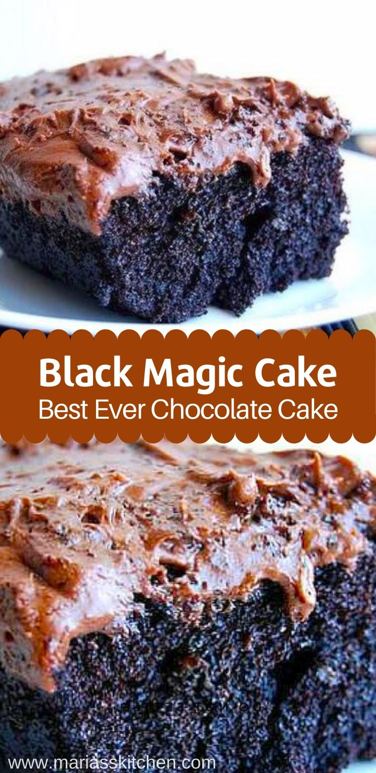 Black Magic Cake ( Best Chocolate Cake )