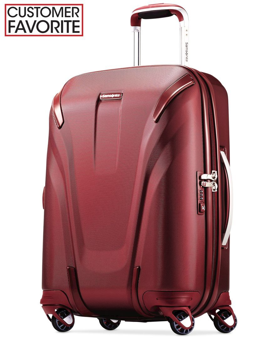 ABS+PC Quartz Andiamo Elegante Suitcase with Built-in TSA Lock Zipperless 24 Inch Hardside Checked Bag- Lightweight Luggage With 8-Rolling Spinner Wheels