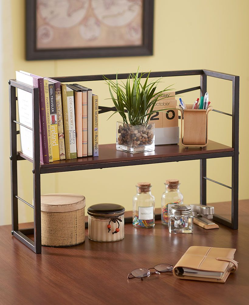 Desktop Shelf Gl Shelves Decor