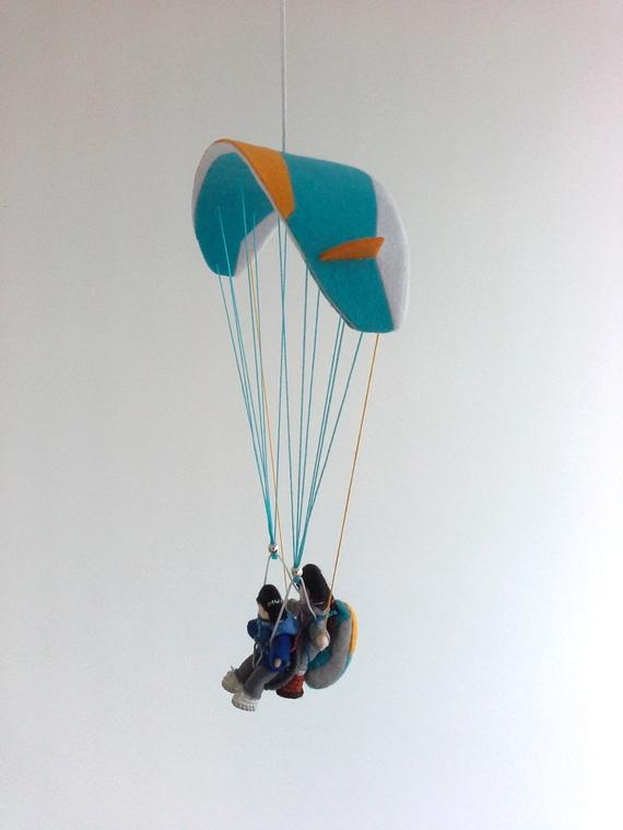 Paragliding tandem Paraglider gift Mini tandem Model