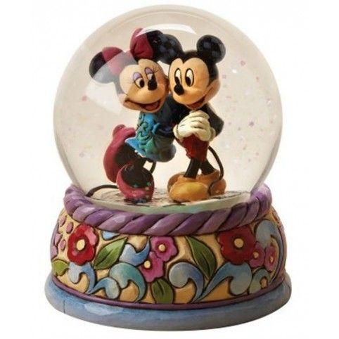 Boule de neige mickey et minnie disney snow globes pinterest boules neige boule et neige - Danse de mickey ...