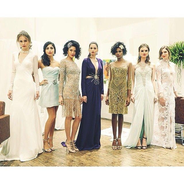 Modelos do querido estilista #marceloquadros com jóias #Bibiana Paranhos #glasshair. Tudo maravilhoso!