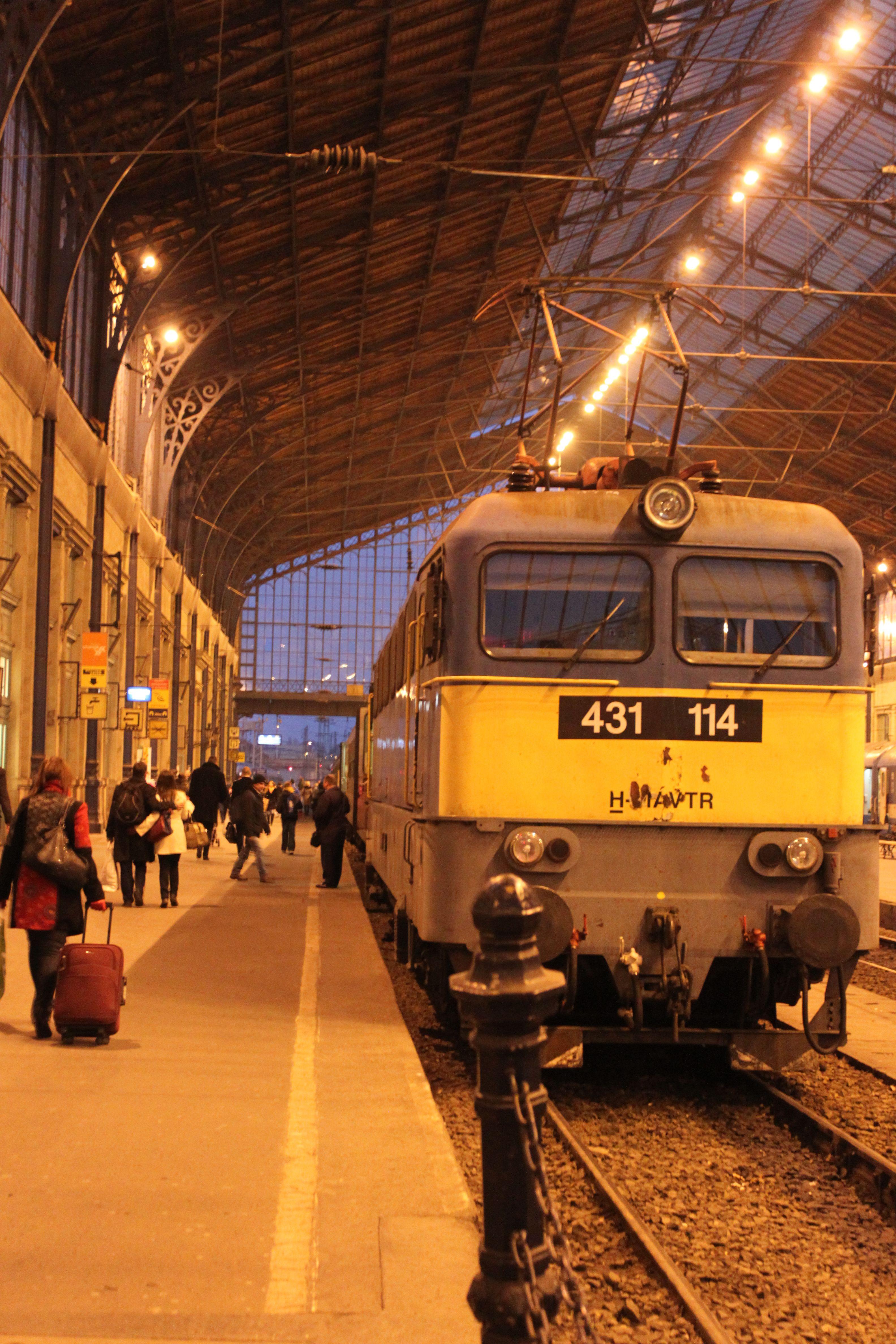 Train station of Budapest